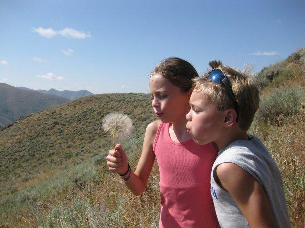 Hailey and Alex in Idaho